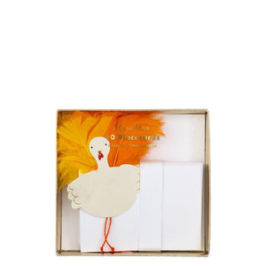 Feather Turkey Placecards