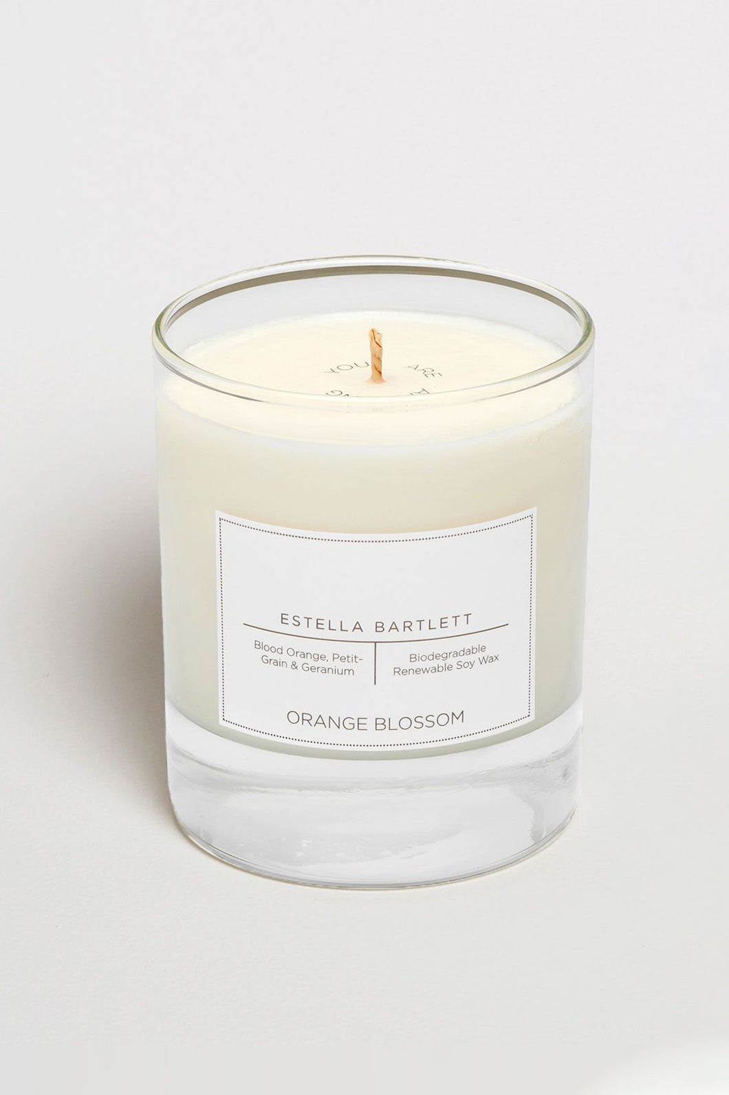 Orange Blossom Soy Wax Candle