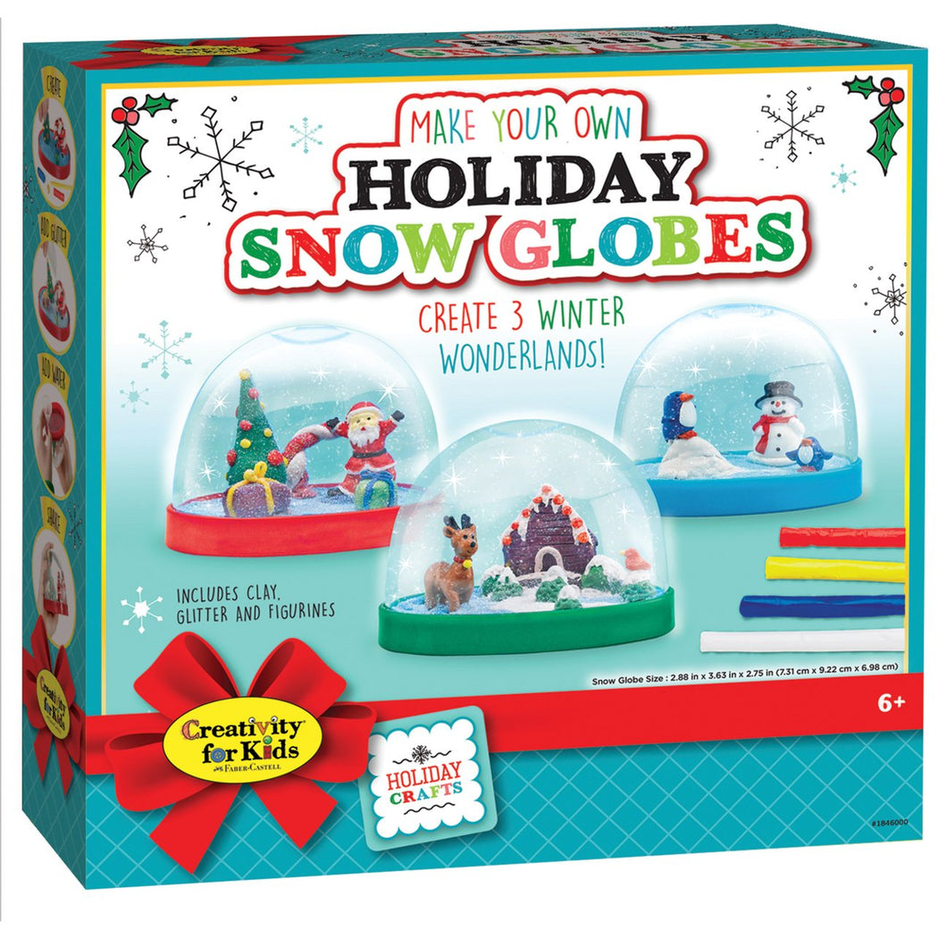 Holiday Snowglobe Kit