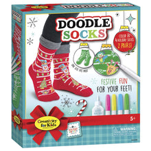 Holiday Doodle Socks