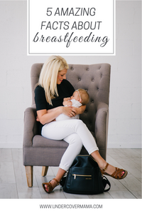 Five Amazing Facts About Breastfeeding