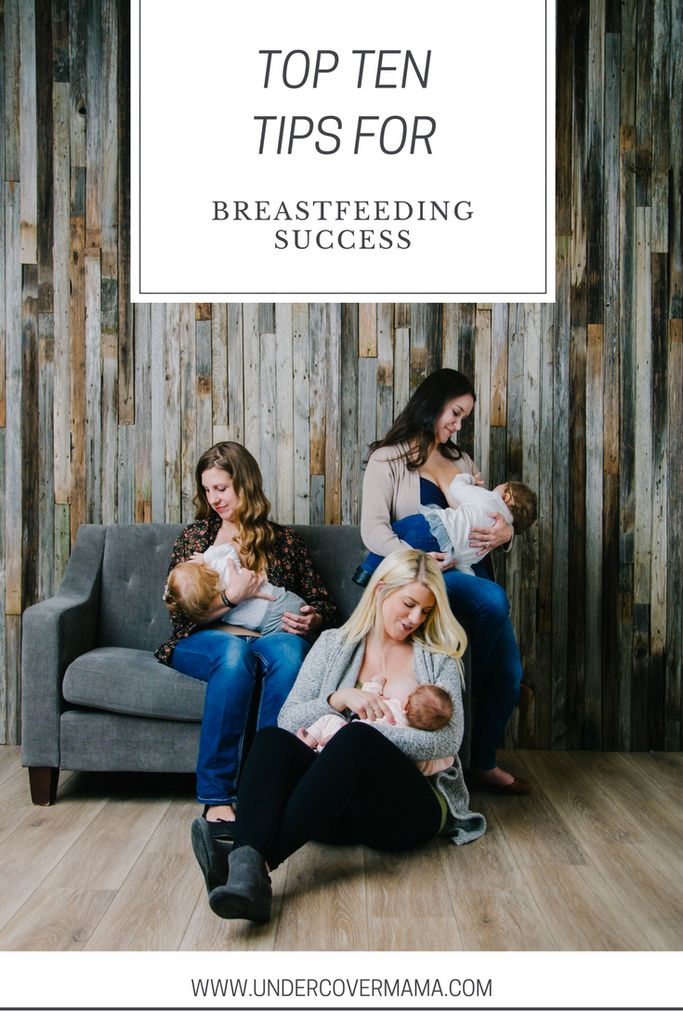 Top Ten Tips for Breastfeeding