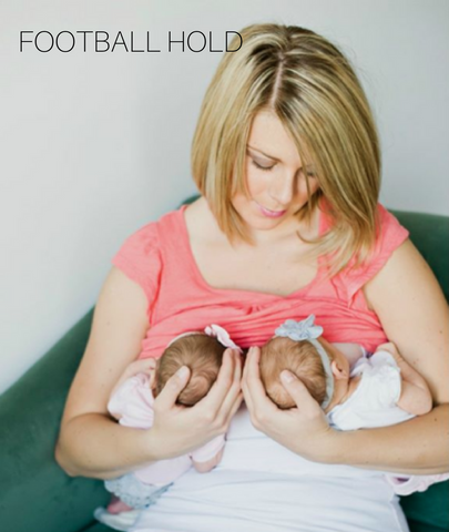 FOOTBALL HOLD BREASTFEEDING POSITION