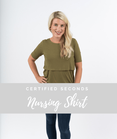 Seconds Nursing Shirt - Final Sale