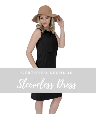 Seconds Sleeveless Nursing Dress - Final Sale