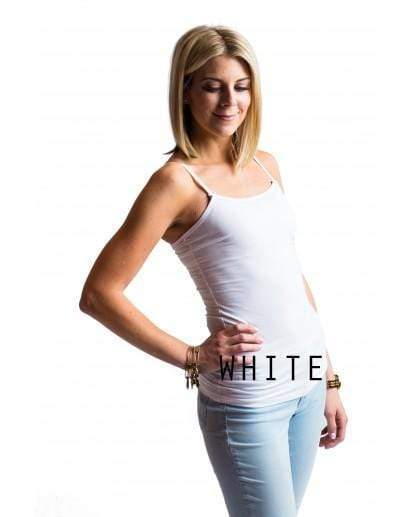 White Strapless Nursing Tank Bundle from Undercover Mama