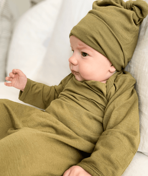 Olive Newborn Baby Hat from Undercover Mama