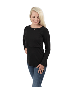 Long Sleeve Nursing Shirt