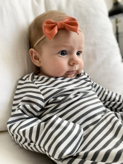 Knotted Baby Gown - Final Sale