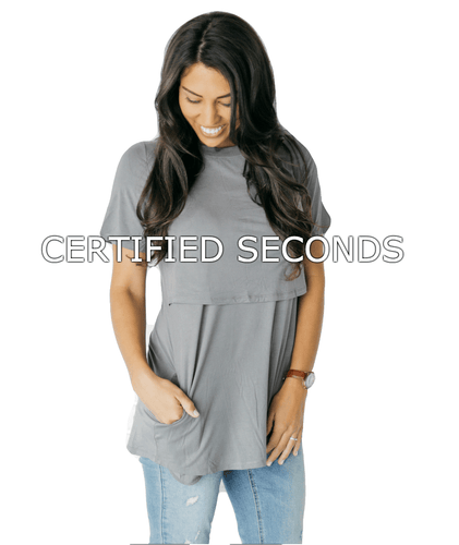 Seconds Nursing Tee