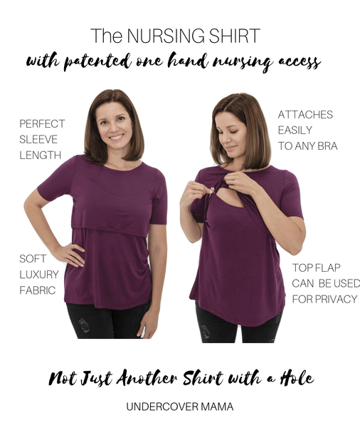 Undercover Mama Nursing Shirt All Variations