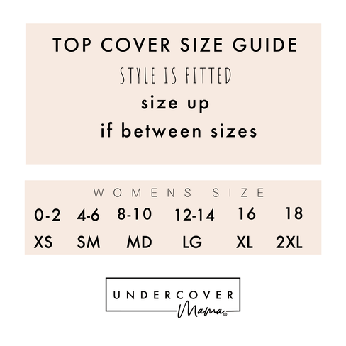 Breastfeeding Top Cover from Undercover Mama