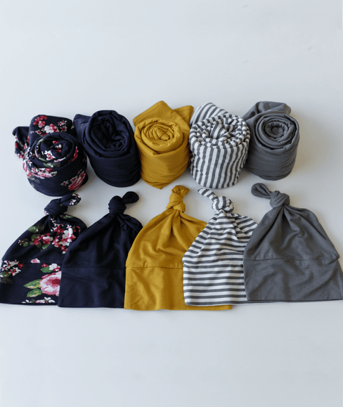 Baby Swaddle Blanket & Hat Bundle - Undercover Mama