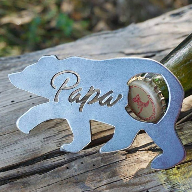 Papa Bear Bottle Opener