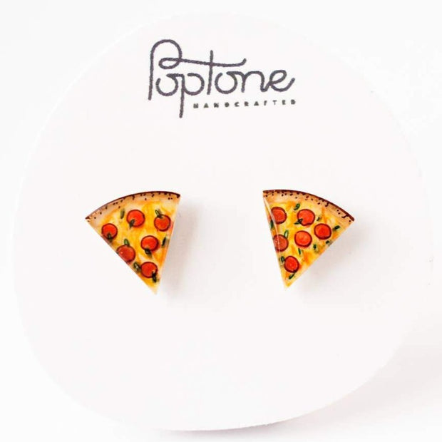 Pizza Slice Earrings