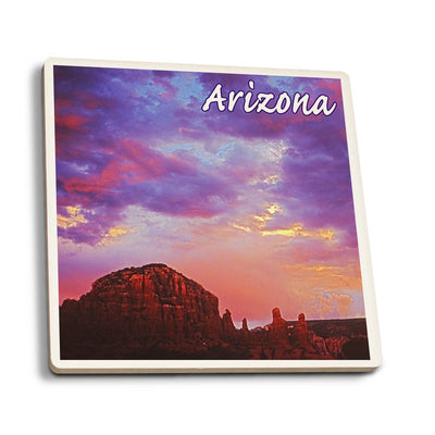 Arizona Red Rock Sunset Coaster