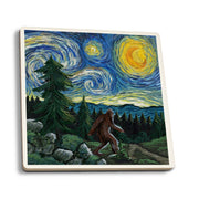 Bigfoot Starry Night Coaster
