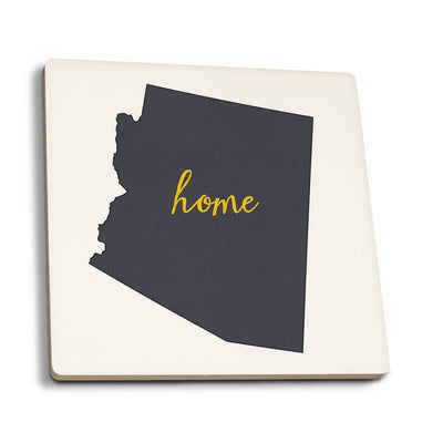 Grey Arizona Home State Coaster