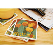 Phoenix in Bloom Coaster