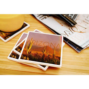 Arizona Rainbow Photograph Coaster