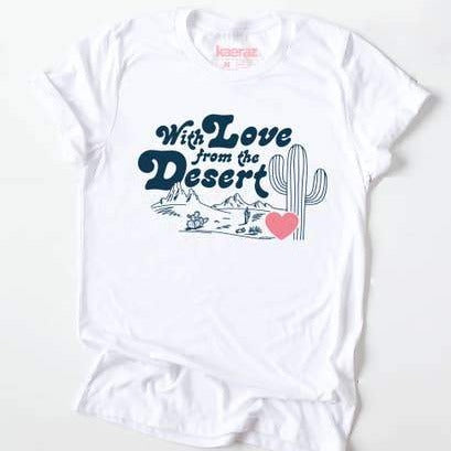 Love From the Desert Unisex Tee