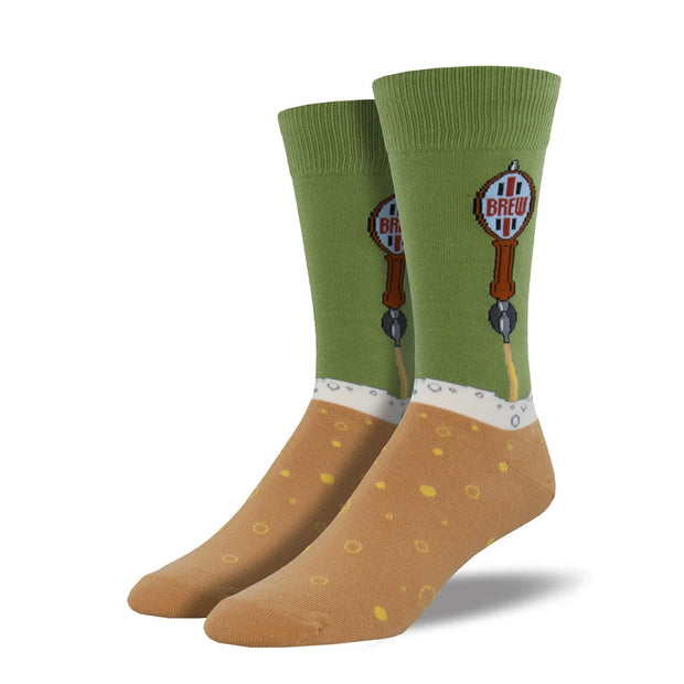 Men's Beer Tap Socks - Green