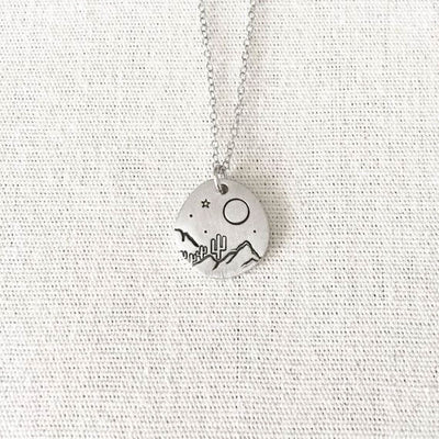 Moonlit Desert Necklace