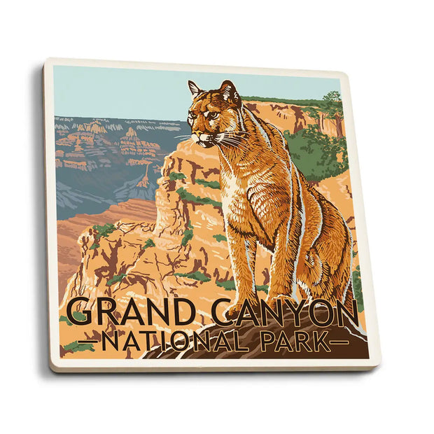 Grand Canyon Mountain Lion Coaster