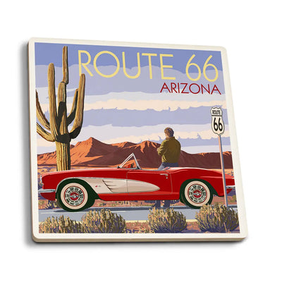 AZ Route 66 Corvette Coaster