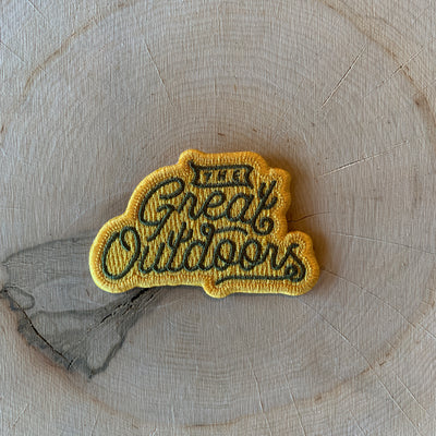 The Great Outdoors Iron-On Patch