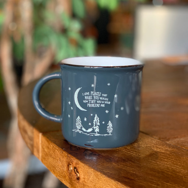 Tiny Problems Camp Mug
