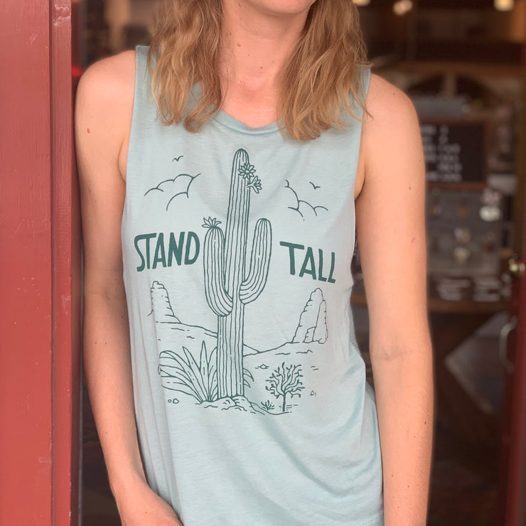 Stand Tall Women's Muscle Tank
