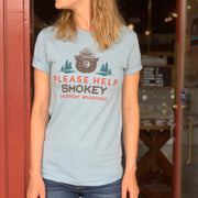 Smokey the Bear Unisex Tee - Frost Blue
