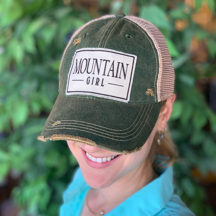 Mountain Girl Trucker Hat