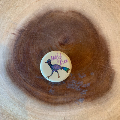Wild Roadrunner Mini Magnet