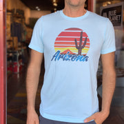 Arizona Sunset Unisex Tee - Cloud Blue