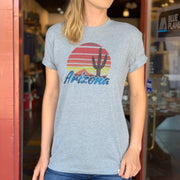 Arizona Sunset Unisex Tee - Heather Grey