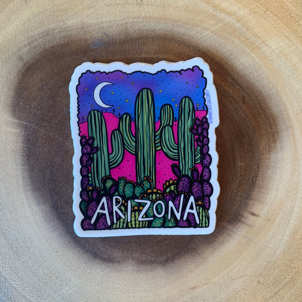 Arizona Night Sticker