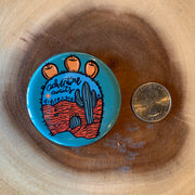 Aqua Arizona Large Magnet