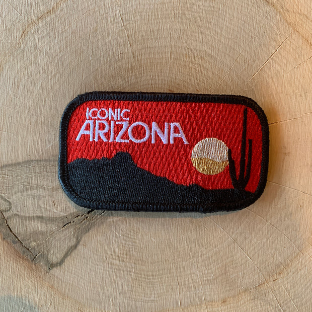 Iconic Sunset Iron-On Patch