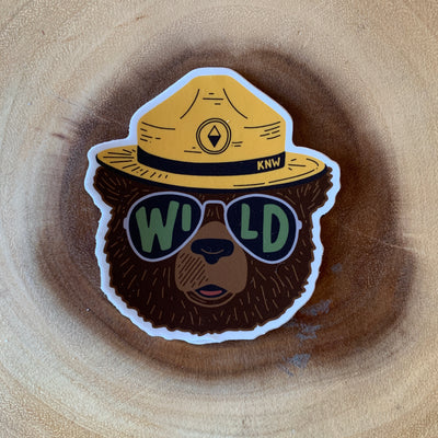 Smokey Bear Sticker