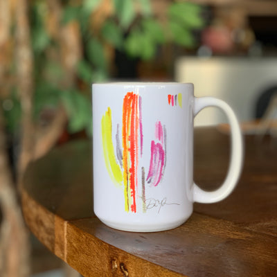 Saguaro Watercolor Mug