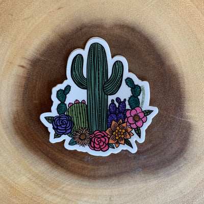 Saguaro Garden Sticker