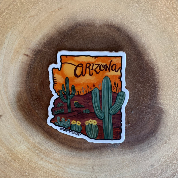 Arizona Sunset Sticker