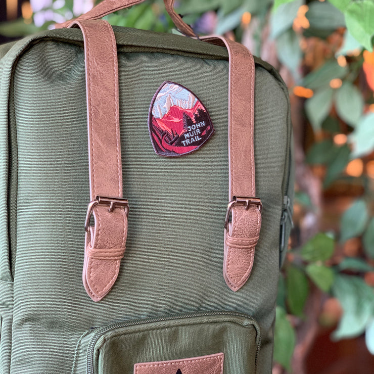 John Muir Trail Iron-On Patch