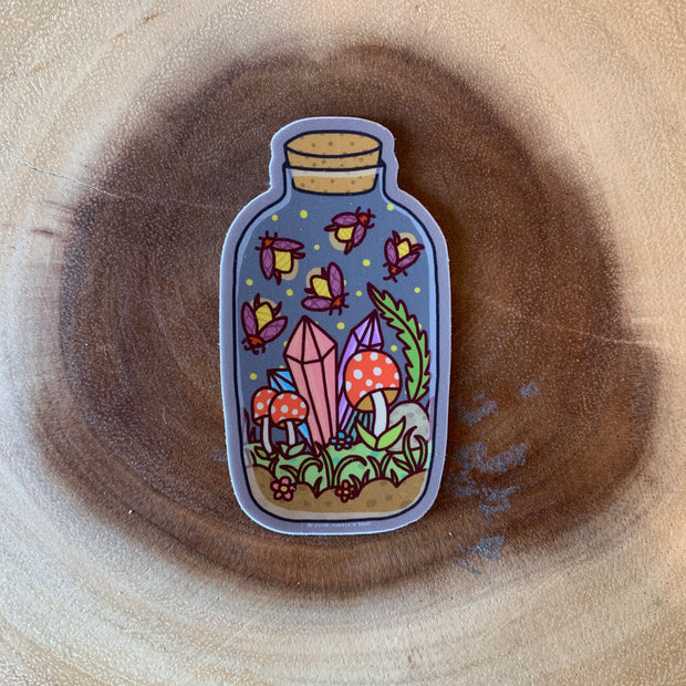Firefly Jar Sticker