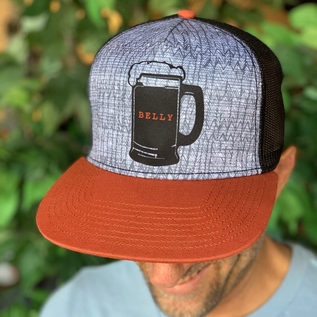 Beer Belly Flat Brim