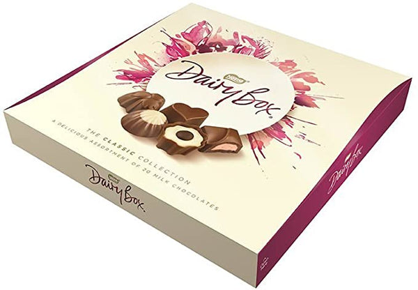 Dairy Box Milk Chocolate Assortment Box 180g