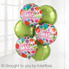 Happy Birthday Balloon Bouquet