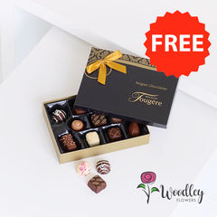 Country Garden Hand-tied + FREE Chocolates